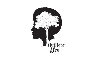 Logo outdoor afro